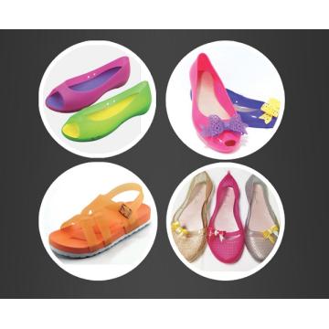 Máquina de moldeo por inyección de dos colores Air-Blowing Shoes