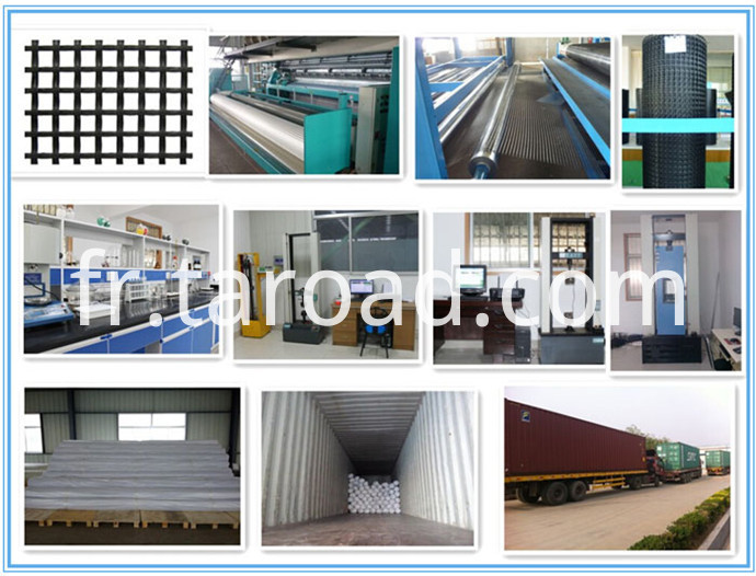 Glass Fiber Geogrid with CE certificate