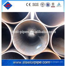 Din2393 welded round steel pipe for oil or gas