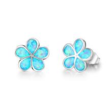 Opal Earring New Fashion Popular jewelry Opal Stone Earrings for Girl
