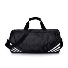 Custom Heavy Duty Large Fitness Travel Duffle Bag Waterproof Black Nylon Mens Sports Gym Duffel Bag