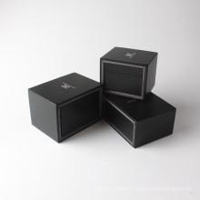Aduana caliente que vende adornos de cartón pequeño conjunto de caja de regalo de cuero de Navidad