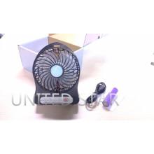 2015 más nueva recargable USB batería de litio Mini Protable Fan