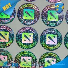 custom hologram sticker printing/wholesaler hologram sticker/3D hologram sticker lables