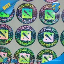 Наклейка с наклейкой на голограмму / оптоволоконная наклейка с голограммой / наклейки с голограммой в 3D