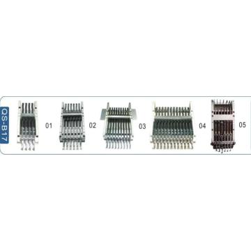 Bordado, máquina, cabeza, barra, barra, marco