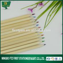 Lápis de cor de pintura em madeira a atacado