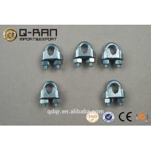 Clip de cuerda de alambre maleable tipo zinc U.S.--Hardware del aparejo