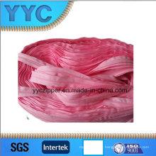 Fermeture à glissière à longue chaîne en nylon