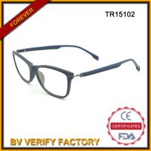 Manera popular diseño por mayor gafas Tr90 lectura óptico gafas Marcos Tr15102