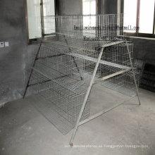 La jaula más barata de la batería de la capa del pollo de Chick Coop hecha en China