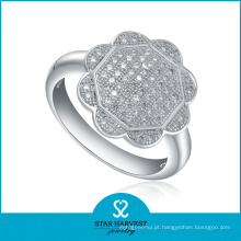 Genuíno polimento 925 anel de prata esterlina para amostra grátis (r-0021)