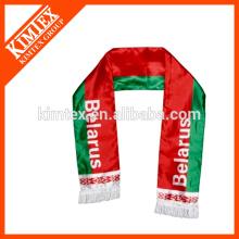 OEM футбольный болельщик трикотажные спортивный шарф
