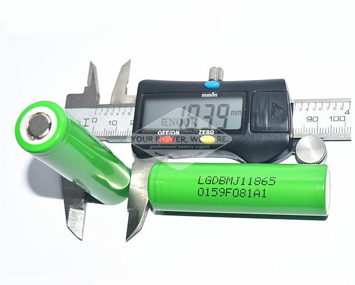 LG MJ1 3500mah 18650 Lithium Cell