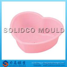 lavabo redondo de plástico cuenco nuevo molde de inyección de cuenca de diseño