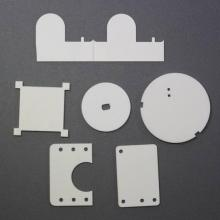 optical transmission sintering aluminum nitride ceramics