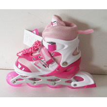Kids Sports PU Wheels Pink Inline Skate (CK-109)