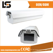 Piezas de fundición a presión de aluminio Proveedor de Hikvision Carcasa de cámara de fundición a presión de aluminio Fabricado en China