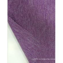 Poliéster Nylon Spandex Melange Jersey Tela