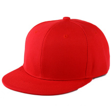 Hip Hop Custom 5 Panel Flat Brim Snapback Cap
