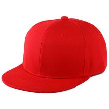 Hip Hop Custom 5 Panel Flat Brim Snapback Cap