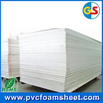Lámina de superficie brillante de película de laminación de PVC para gabinete (espesor en caliente de 18 mm)