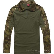 Exército de alta qualidade sob a camisa de combate de armadura corporal