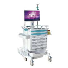 Station de travail mobile avec infirmière sans clé Système d'entrée
