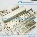 SO # 50 SP2 Placas de bronce, Oiles Placas de deslizamiento Fabricante, FPLB20-305-05 Placas de bronce con grafito