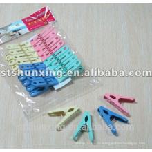 шуньсин дешевые практического хороший прочного пластика ткань колышек с высоким качеством