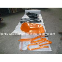 Roue de brouette de brouette du Nigéria Wb6220 sans roue en caoutchouc