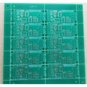 2 layer 1.6mm Green solder ENIG PCB