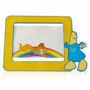 Magnetic Photo Frames, Available in Various Sizes, Made of PVC and Rubber