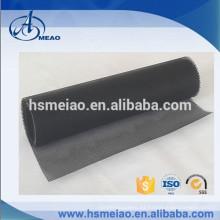 Malla de malla negra de 4x4mm Tejidos de malla de fibra de vidrio recubiertos de teflón