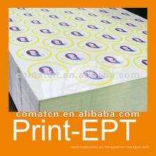 Impreso y hojalatas de barniz para metal puede producción