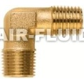 BSPP Male/Male Elbow Nickel Plated Brass Fittings