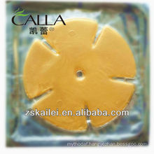Gold powder collagen breast mask