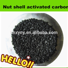 Impregnated steam apricot shell activated carbon for drinking water treatment