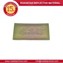 Remendo de couro artificial reflexivo para calças de brim de venda quente