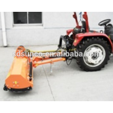 lawn flail mower grass catcher powered tractor pto