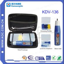 Herramienta de limpieza óptica de fibra Kdv-136