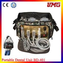 Стоматологическая портативная передвижная установка с системой всасывания
