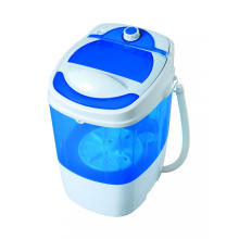 Mini máquina de lavar 2KG banheira simples