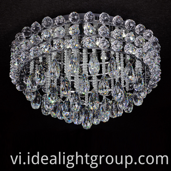 chandelier crystal ball