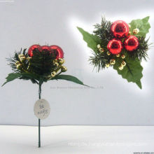 Plastic Decorative Christmas train ornaments Christmas picks