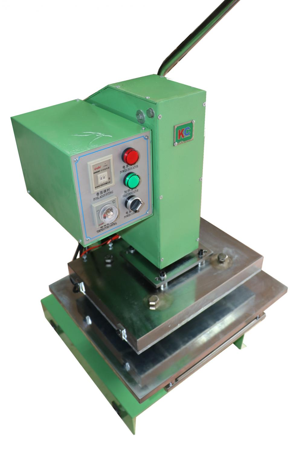 Fishing lura   hot foil stamping machine