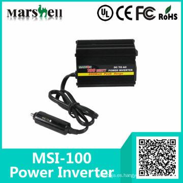 Inversor de energía para automóvil de onda sinusoidal de 100 a 300 W de baja potencia de CC a CA