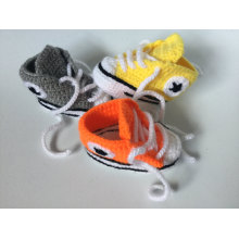 Baby Crochet Sneakers Tennis Booties Boy Girls Infant Sport Shoes