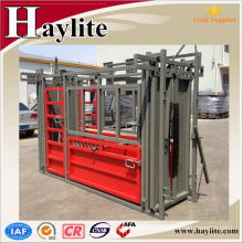 powder coated livestock scale / cattle weighing scale / Squeeze Chute Heavy Duty Cattle Crush / Cattle Handler