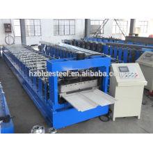 Hot Sale Bonne qualité PLC Industrial Self Lock Galvanisé Metal Toing Roll Machine formant à vendre
